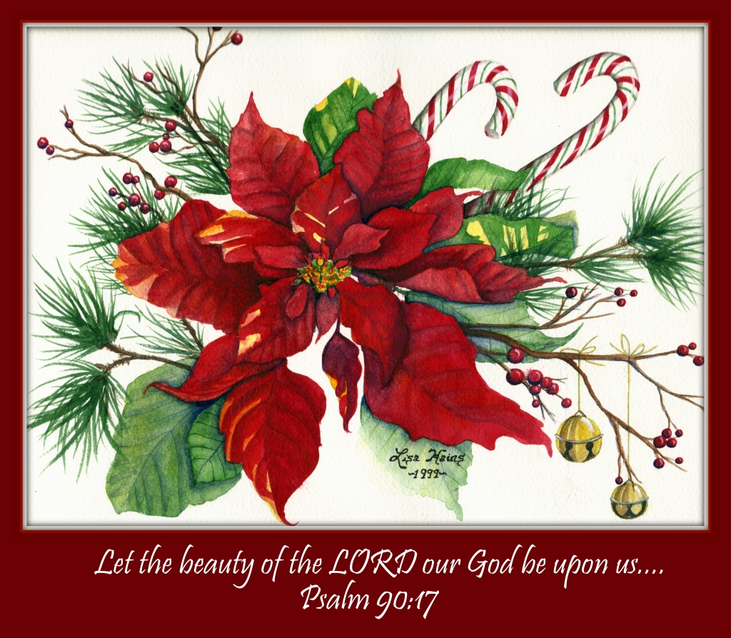 Poinsettia Psalm 90  17