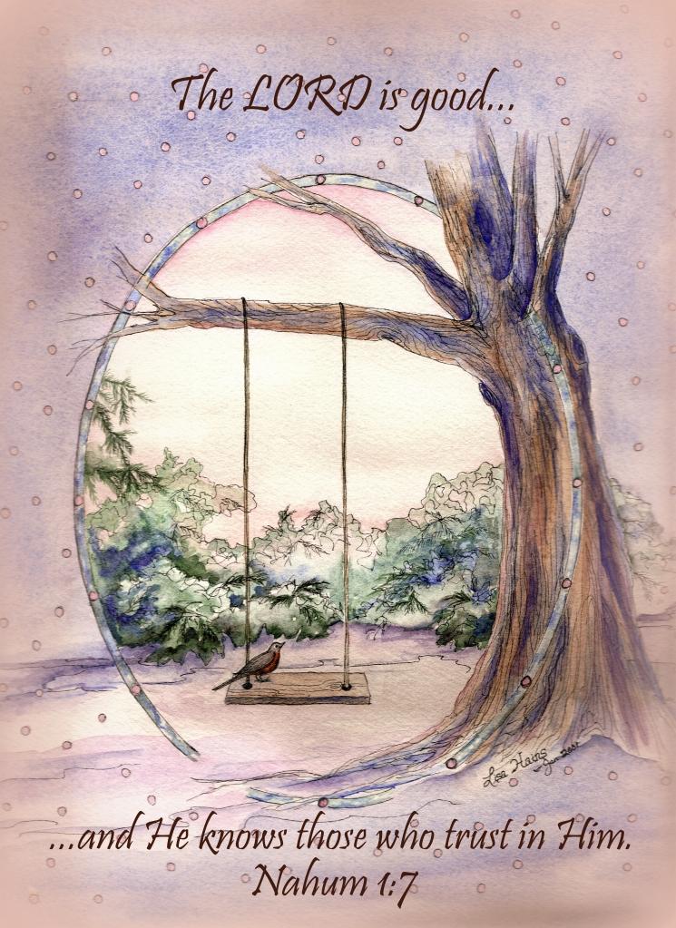 Robin on Swing Right Nahum 1   7