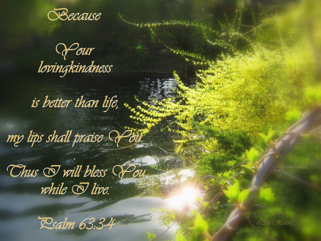 Psalm 63 3 and 4