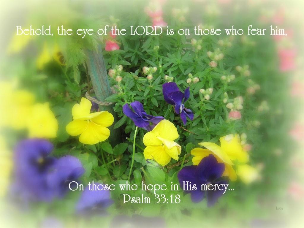 psalm 33  18